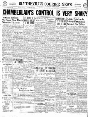 The Courier News from Blytheville, Arkansas on May 3, 1940 · Page 1