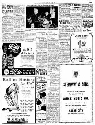 Globe-Gazette from Mason City, Iowa on December 16, 1936 · Page 43
