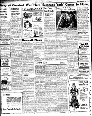 Hope Star from Hope, Arkansas on January 16, 1942 · Page 4
