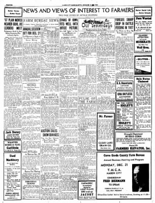 Globe-Gazette from Mason City, Iowa on December 16, 1936 · Page 54