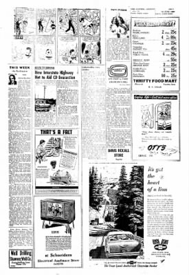 Fayette County Leader from Fayette, Iowa on June 13, 1957 · Page 5