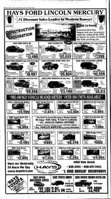 The Hays Daily News from Hays, Kansas on September 15, 2002 · Page 41