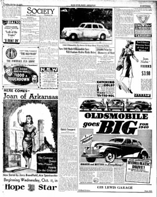 Hope Star from Hope, Arkansas on October 10, 1939 · Page 3