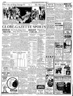 Globe-Gazette from Mason City, Iowa on December 17, 1936 · Page 68