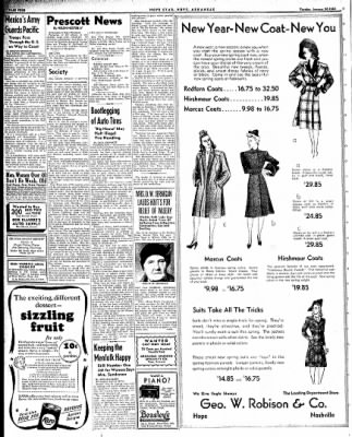 Hope Star from Hope, Arkansas on January 20, 1942 · Page 4