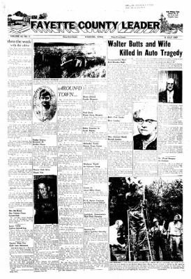 Fayette County Leader from Fayette, Iowa on July 11, 1957 · Page 1