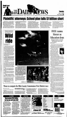 The Hays Daily News from Hays, Kansas on June 13, 2006 · Page 1