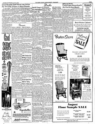 The North Adams Transcript from North Adams, Massachusetts on July 29, 1963 · Page 3