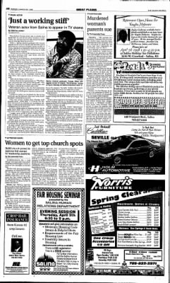 The Salina Journal from Salina, Kansas on March 29, 1998 · Page 10