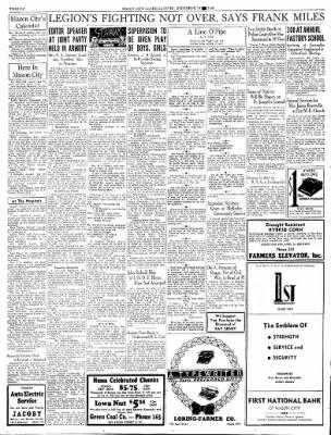 Globe-Gazette from Mason City, Iowa on December 19, 1936 · Page 44