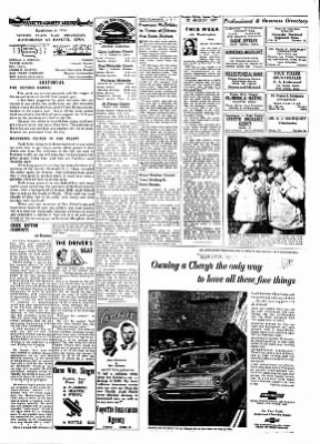 Fayette County Leader from Fayette, Iowa on August 22, 1957 · Page 2