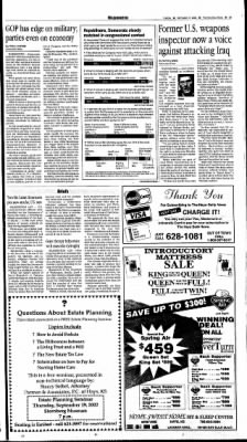 The Hays Daily News from Hays, Kansas on September 17, 2002 · Page 7