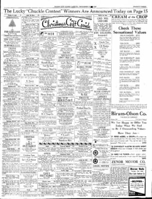 Globe-Gazette from Mason City, Iowa on December 21, 1936 · Page 67