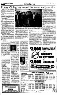 Ukiah Daily Journal from Ukiah, California on June 8, 1998 · Page 3
