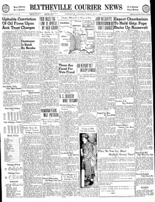 The Courier News from Blytheville, Arkansas on May 6, 1940 · Page 1