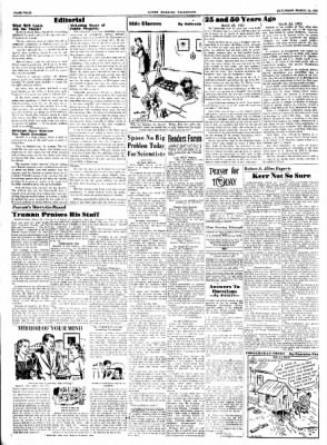 Alton Evening Telegraph from Alton, Illinois on March 22, 1952 · Page 4