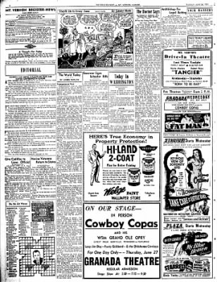 Mt. Vernon Register-News from Mt Vernon, Illinois on June 26, 1951 · Page 4