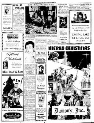 Globe-Gazette from Mason City, Iowa on December 24, 1936 · Page 53