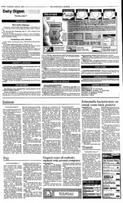 Ukiah Daily Journal from Ukiah, California on June 9, 1998 · Page 10