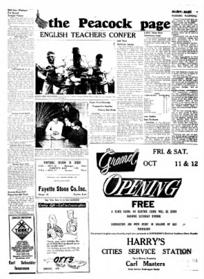 Fayette County Leader from Fayette, Iowa on October 10, 1957 · Page 5
