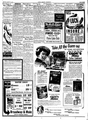 Alton Evening Telegraph from Alton, Illinois on March 24, 1952 · Page 7
