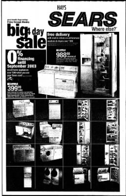 The Hays Daily News from Hays, Kansas on September 18, 2002 · Page 21