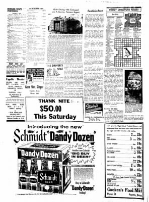 Fayette County Leader from Fayette, Iowa on October 31, 1957 · Page 4