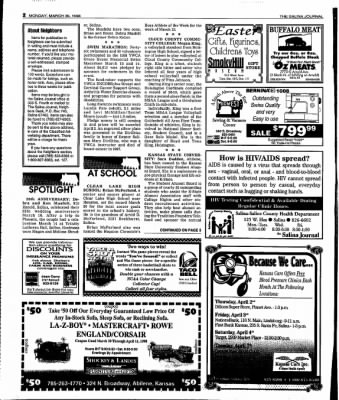 The Salina Journal from Salina, Kansas on March 30, 1998 · Page 18