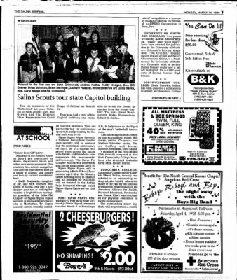 The Salina Journal from Salina, Kansas on March 30, 1998 · Page 19