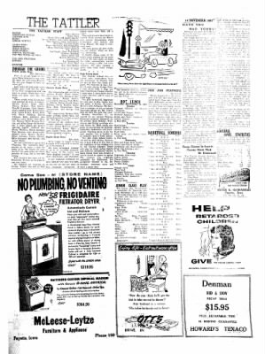 Fayette County Leader from Fayette, Iowa on November 14, 1957 · Page 3