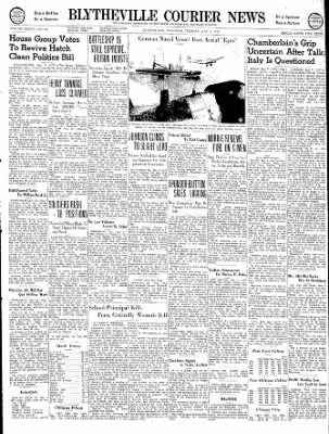 The Courier News from Blytheville, Arkansas on May 7, 1940 · Page 1