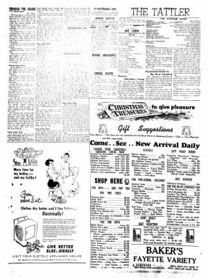 Fayette County Leader from Fayette, Iowa on November 21, 1957 · Page 4