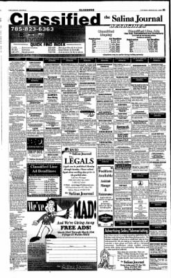 The Salina Journal from Salina, Kansas on March 31, 1998 · Page 13