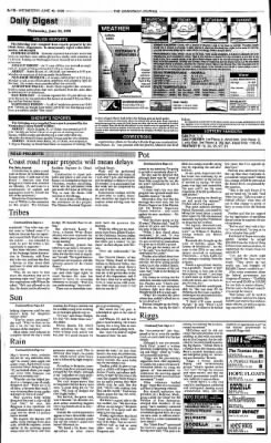 Ukiah Daily Journal from Ukiah, California on June 10, 1998 · Page 10