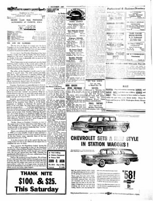 Fayette County Leader from Fayette, Iowa on December 5, 1957 · Page 2