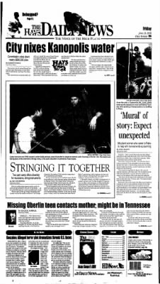 The Hays Daily News from Hays, Kansas on June 23, 2006 · Page 1