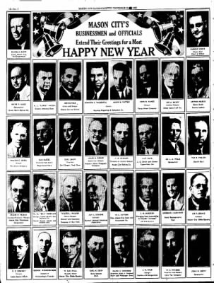 Globe-Gazette from Mason City, Iowa on December 31, 1936 · Page 132
