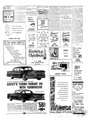 Fayette County Leader from Fayette, Iowa on December 19, 1957 · Page 5