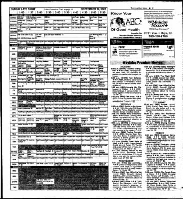 The Hays Daily News from Hays, Kansas on September 20, 2002 · Page 25