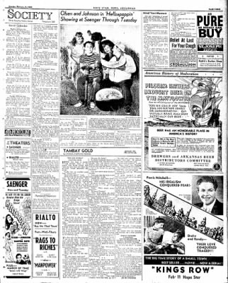 Hope Star from Hope, Arkansas on February 9, 1942 · Page 3