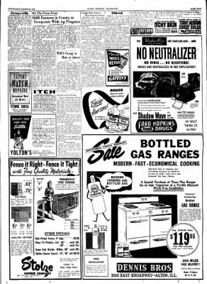 Alton Evening Telegraph from Alton, Illinois on March 26, 1952 · Page 9