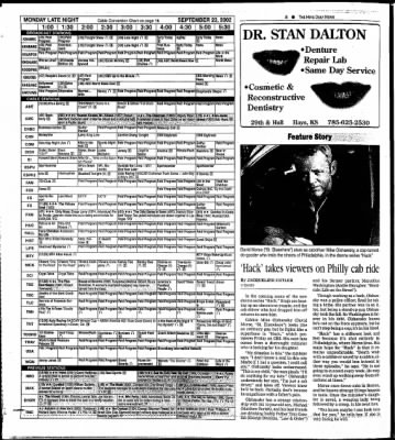 The Hays Daily News from Hays, Kansas on September 20, 2002 · Page 28