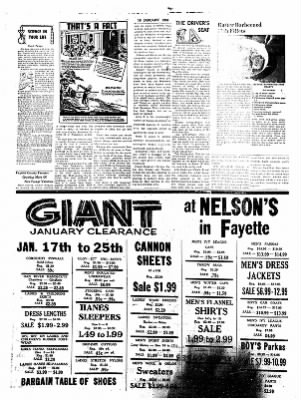 Fayette County Leader from Fayette, Iowa on January 16, 1958 · Page 4