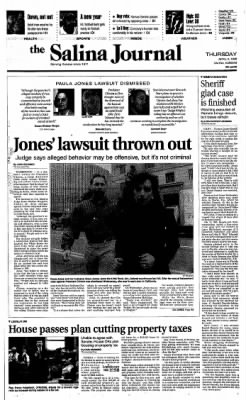 The Salina Journal from Salina, Kansas on April 2, 1998 · Page 1