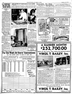 Mt. Vernon Register-News from Mt Vernon, Illinois on July 3, 1951 · Page 14