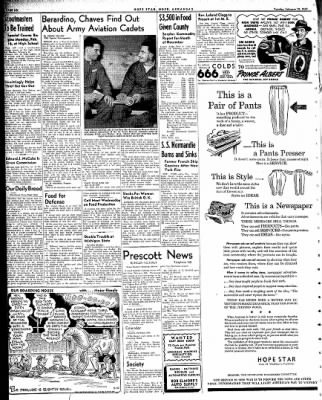 Hope Star from Hope, Arkansas on February 10, 1942 · Page 6