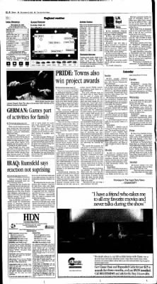 The Hays Daily News from Hays, Kansas on September 22, 2002 · Page 2