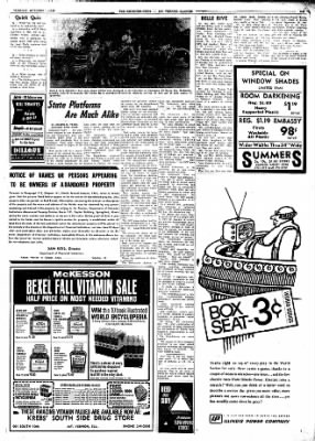 Mt. Vernon Register-News from Mt Vernon, Illinois on October 1, 1968 · Page 11