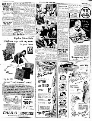 The Courier News from Blytheville, Arkansas on May 8, 1940 · Page 3