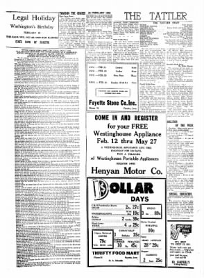 Fayette County Leader from Fayette, Iowa on February 20, 1958 · Page 3